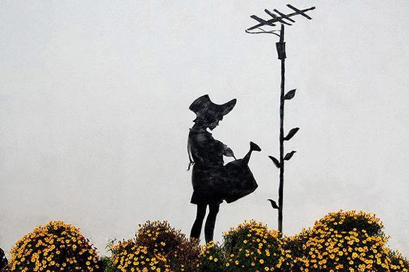 Banksy Nin 189 Duvar Resmi Grafitisi Ve Sokak Sanati Yaziyi Oku